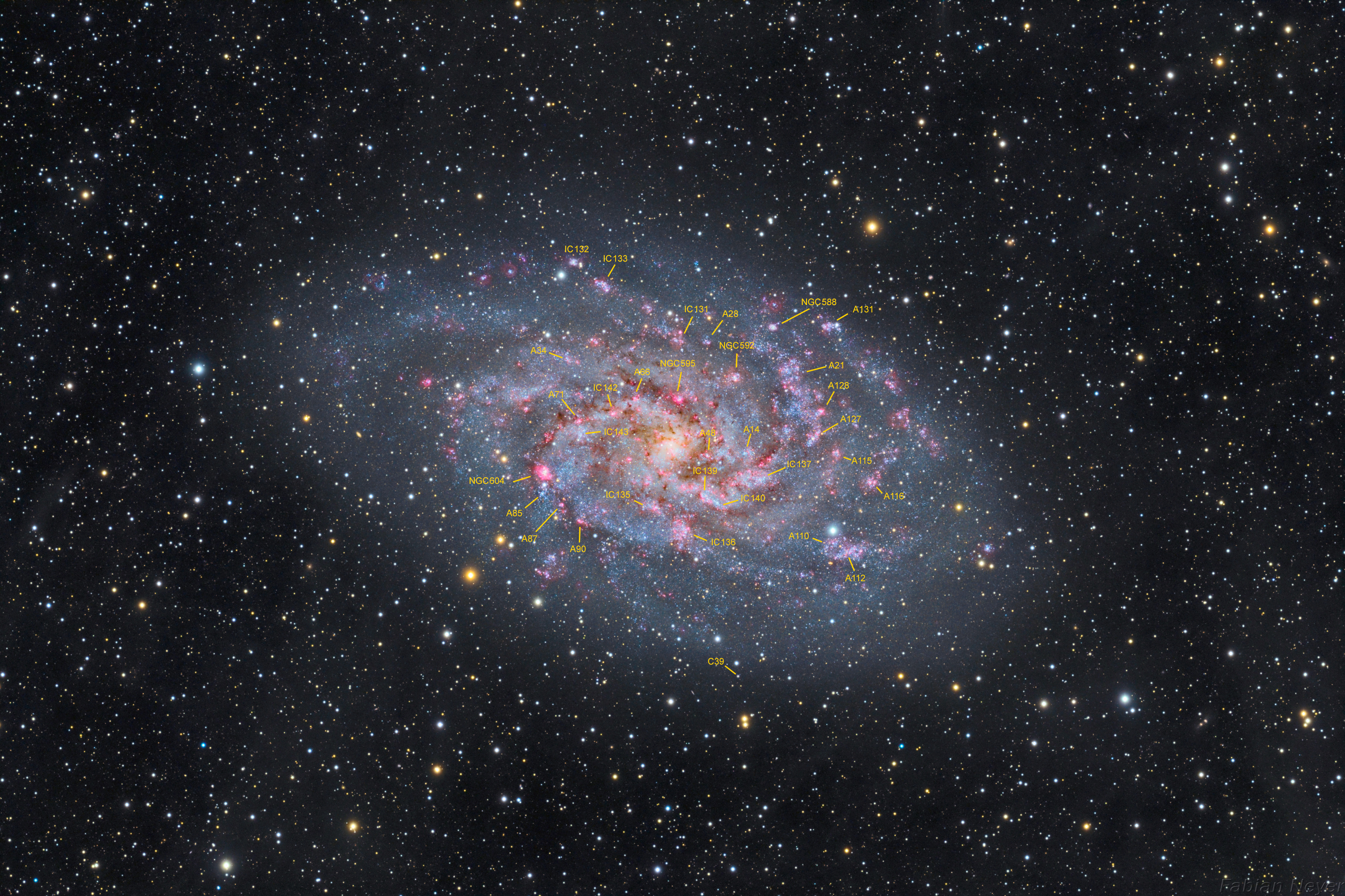 M33 annotated