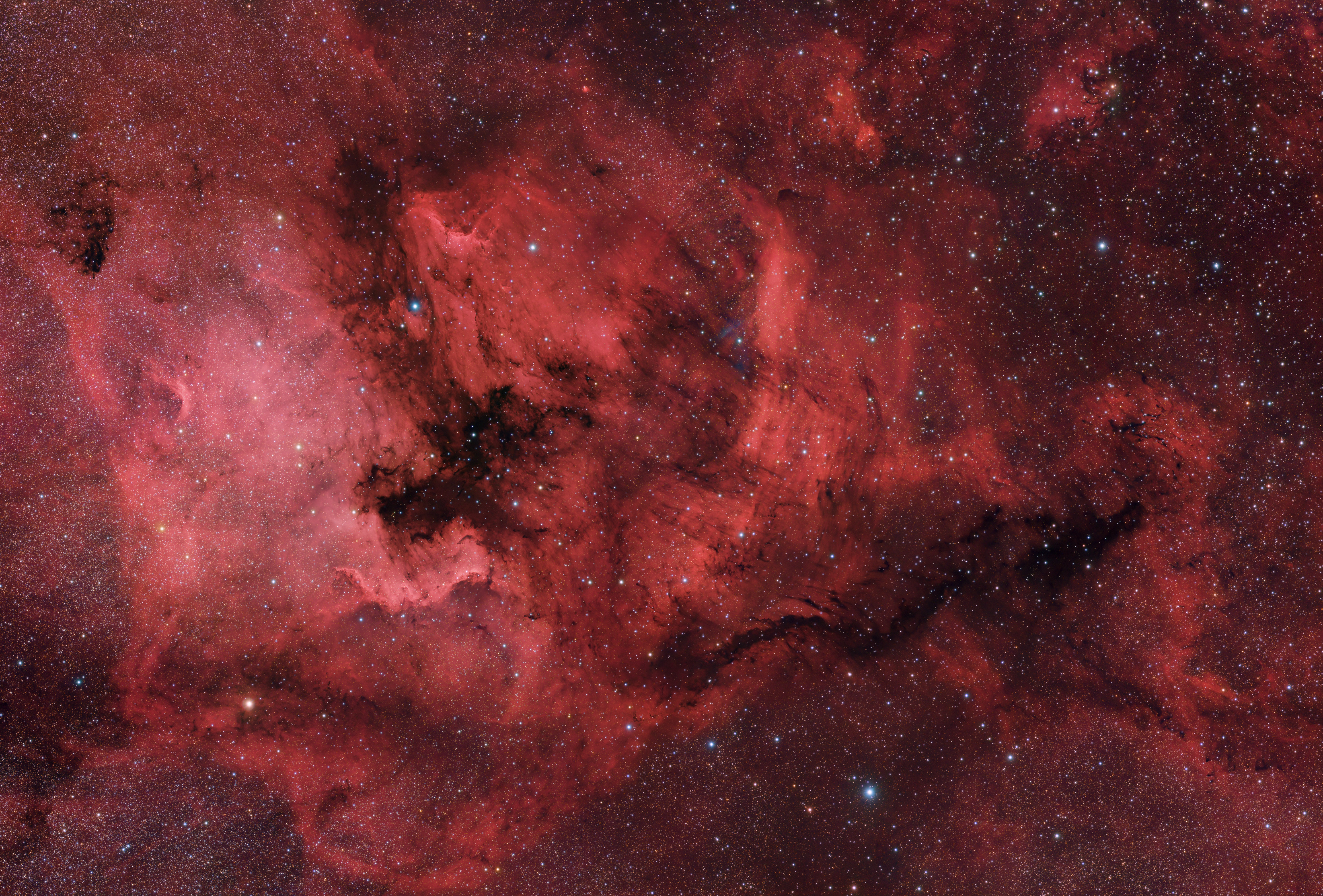 North America Nebula Region